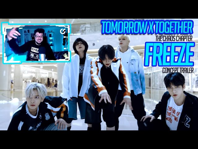 Mikey Reacts to TXT - The Chaos Chapter: FREEZE Concept Trailer (투모로우바이투게더)