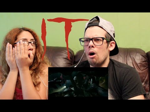 IT Official Trailer REACTION!