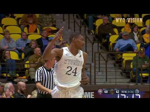 Wyoming MBB vs. New Mexico 22018 Highlights