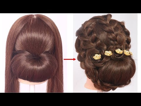 new latest braided hairstyle for medium hair | hairstyle for thin hair | updo hairstyles | hairstyle