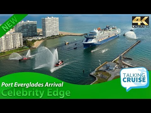 Celebrity Edge – Arrival at Port Everglades Florida (Nov 2018)