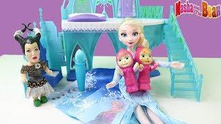 Maşalar Elsa'nın Sihirli Fırçası ile Neler Yapıyorlar Elsa Neden Çok Mutlu Oldu Maşa Yeni Bölüm