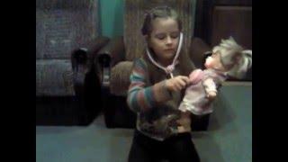 Обзор интерактивной куклы Леся