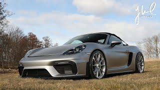 Fitting HRE Wheels to 718 Spyder as awakenings from winter hibernation | EP 137