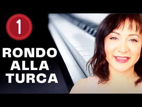 Rondo Alla Turca (Turkish March) Piano Tutorial - Part 1