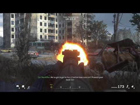 Call of Duty Modern Warfare Remastered Walkthrough Part 11 - One Shot , One Kill
