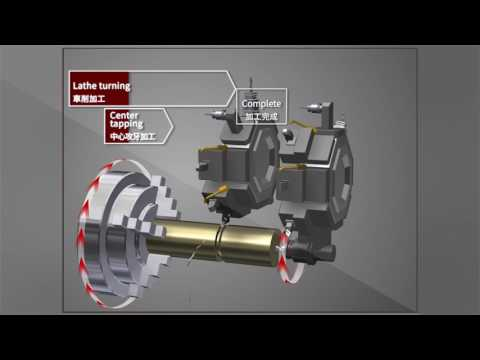 M8 PRESENTATION TOOL-Turning Center-Spindle Superimposition Control