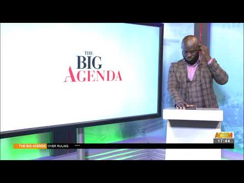 Galamsey Suppression: Are all equipment destroyed for illegal miners? - The Big Agenda (17-5-21)