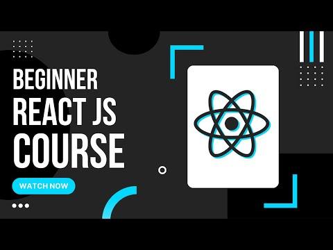 ReactJS Crash Course 2020 | React Functional Components, Hooks