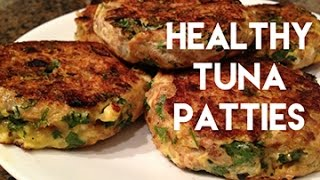 Nefitt Healthy Meal Wednesdays #1 - High Protein Tuna Patties