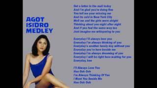Agot Isidro Medley (Karaoke)
