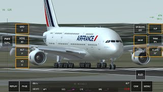 Infinite Flight Airbus A380-800 Air France Best Take Off And Landing From LFPV to LFPG