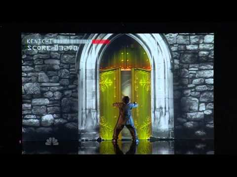 Kenichi Ebina -  America's Got Talent 2013 Season 8 - Radio City Music Hall