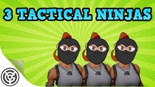 Tactical Triple Ninja Team - Fortnite