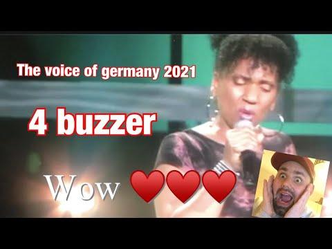 The Voice of Germany 2021 Jennifer Williams-Braun mit \