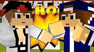Minecraft School - THE SCHOOL BULLY FIGHT w/ Little Kelly
