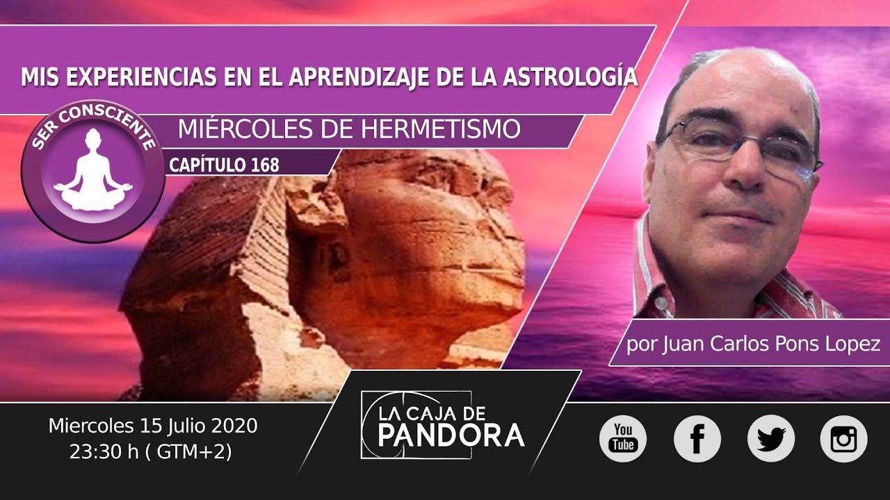 MIS EXPERIENCIAS EN EL APRENDIZAJE DE LA ASTROLOGÍA, por Juan Carlos Pons López