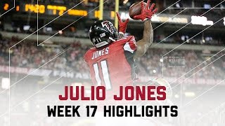 Julio Jones 7 Catches for 96 Yards & 1 TD! | Saints vs. Falcons | NFL Week 17 Player Highlights