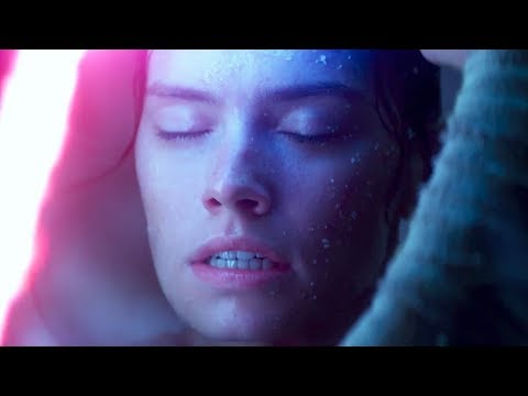 Rey's Force Charging Moment