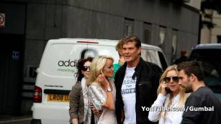 David Hasselhoff arriving at the Gumball 3000 - 1080p HD