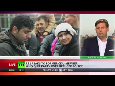 'Merkel will not change her crazy and dangerous migrant policy' - former CDU party member