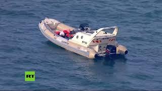 Decenas de migrantes son rescatados mientras intentan cruzar el Canal de la Mancha