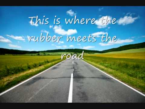 Rubber Meets The Road by Steven Curtis Chapman - YouTube