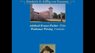 Adelheid Krause-Pichler - Sonata for flute & continuo in G minor: II. Allegro