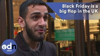 Black Friday is a big flop in the UK