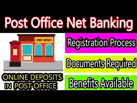 Post Office Net Banking Now Available - Full Details | Deposit In Post Office Online