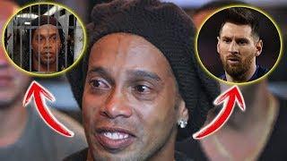Ronaldinho Hayatını Mahfetti - Messi Onu Kurtaracak mı?