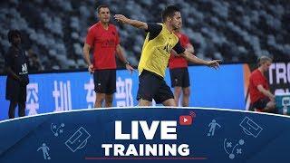 La séance d'entraînement en Live de Suzhou