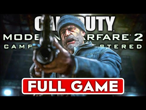 CALL OF DUTY MODERN WARFARE 2 REMASTERED Gameplay Walkthrough Part 1 FULL Campaign - No Commentary
