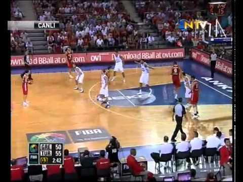 Turkey 76 - 65 Greece TURKISH SUPERIORITY -  FIBA World Basket Championship 2010 HD
