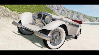 1927 Auriga Heron V12 - G29 Driving - BeamNG