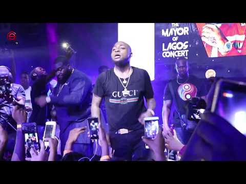 "Davido Surprises Mayorkun With Epic Performance At ""Mayor Of Lagos"" Concert"