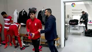 Calentamiento Sevilla FC vs Granada CF
