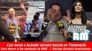 Ángel o Demonio da tabicazo a Cuervo / ¿Enzo Amore expulsado de WWE?