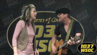 "103.7 WSOC: Thompson Square sings ""Let"