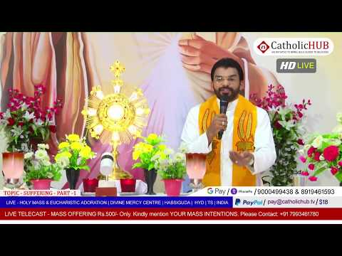 SUNDAY HOLY MASS | SUFFERING - Part 01 | REV.FR.BENNY  SVD | DMC | HABSIGUDA | HYD | 17-05-2020