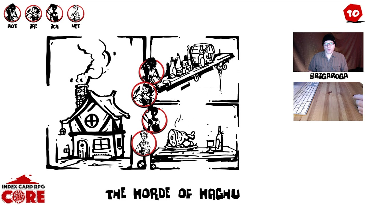 ICRPG The Horde of Haghu, Part 1 - Rigaroga's Odd Order