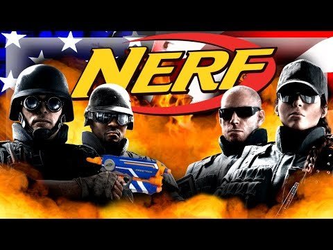 Nerf FBI - Rainbow Six: Siege