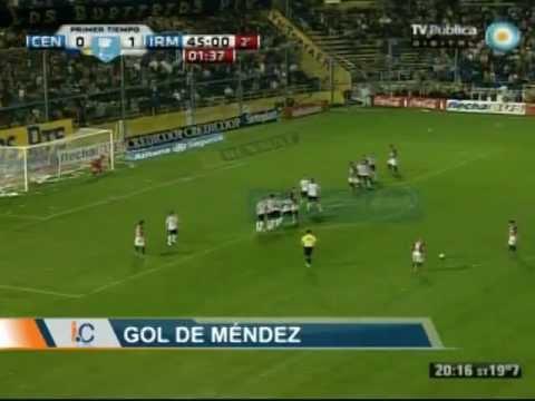 Gol Jesus Mendez - Rosario Central 2-2 Independiente Mdz.