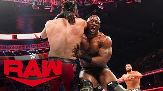 Rusev & Humberto Carrillo vs. Bobby Lashley & Angel Garza: Raw, Feb. 17, 2020