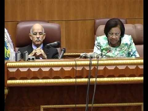 ethiopian delegation to Gabon