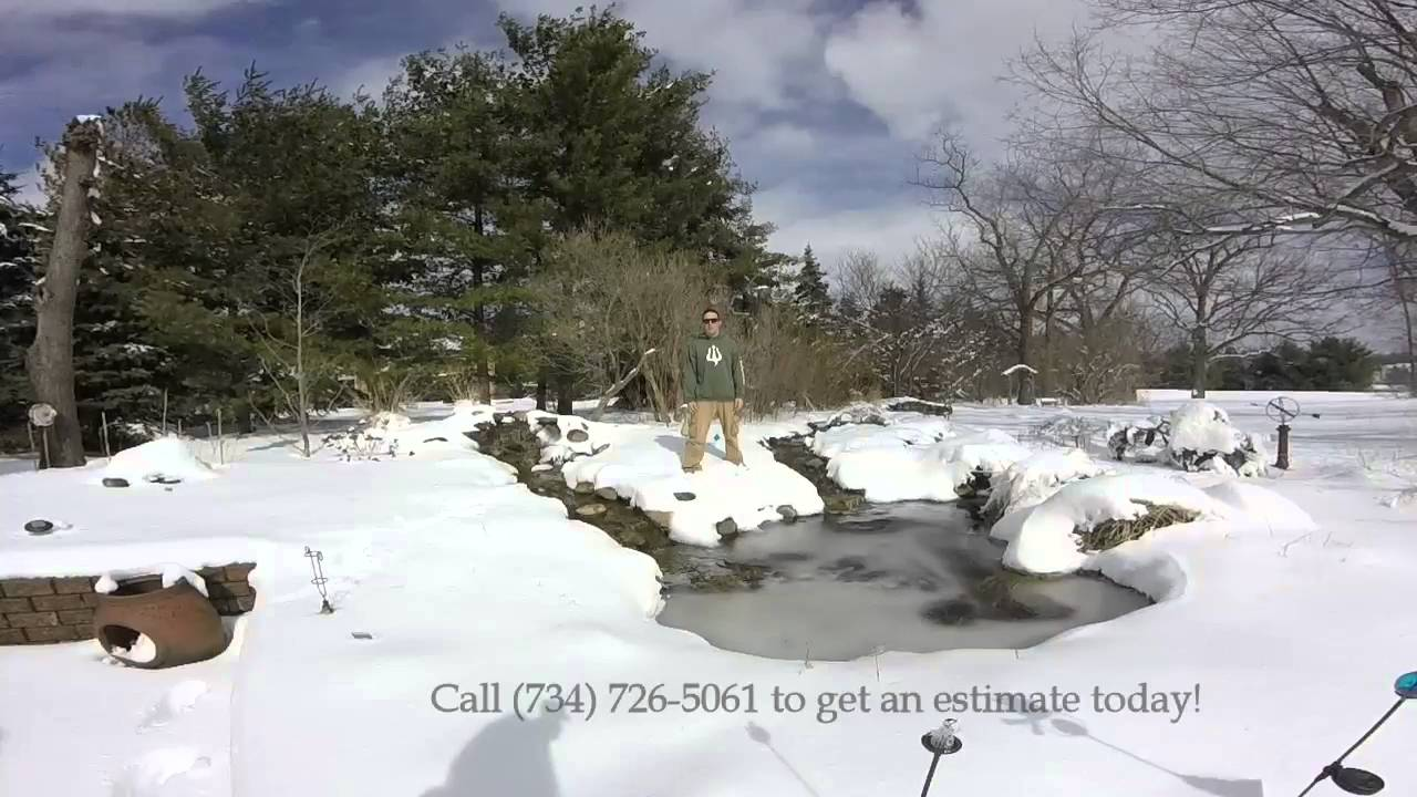 Turn in your Poseidon Ponds & Landscaping Spring Pond Opening ...
