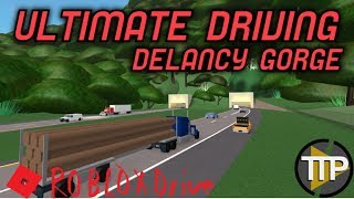 ROBLOX Drive #4 - All Around The Ultimate Driving: Delancy Gorge
