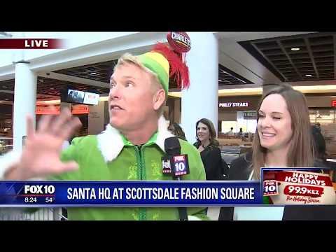 Cory's Corner: Santa HQ at Scottsdale Fashion Square