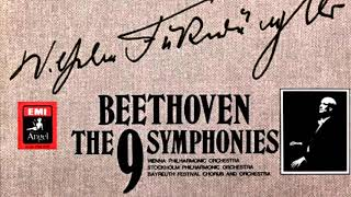 Beethoven By W Furtwängler Symphonies N 1 2 3 4 5 6 7 8 9 Overtures Century S Recording