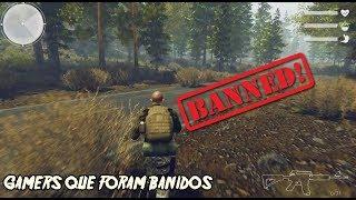6 GAMERS QUE FORAM BANIDOS POR JOGAR BEM!
